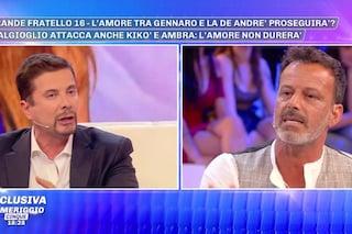 """Pomeriggio Cinque, scontro in diretta tra Riccardo Signoretti e Kiko Nalli: """"Non mi fai paura"""""""