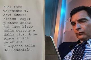 """Tiberio Timperi e l'addio a """"La Vita in Diretta"""": """"Per fare tv devi essere cinico, io sono umano"""""""