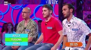 Reazione a Catena perde i Tre Forcellini, il trio eliminato dopo 24 puntate e 300mila euro vinti