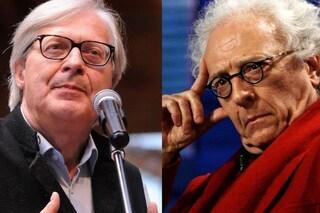 """Vittorio Sgarbi: """"Giampiero Mughini fa tenerezza, con me è stato come il prete dell'Esorcista"""""""