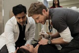 The resident, anticipazioni terza puntata 9 luglio: l'ex fidanzata di Conrad ricoverata in ospedale