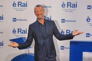 """Amadeus sul Festival di Sanremo 2020: """"Sarà una grande festa. Fiorello e Jovanotti potranno tutto"""""""