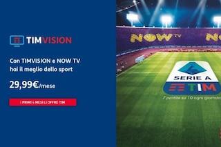 Serie A, Champions ed Europa League su Now Tv – Ticket Sport, frutto dell'accordo tra Tim e Sky