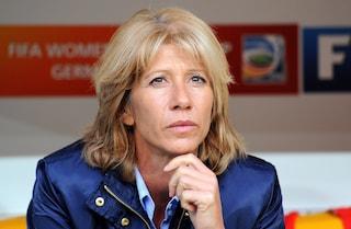 Carolina Morace al commento tecnico Sky delle partite di Serie A maschile: è una notizia