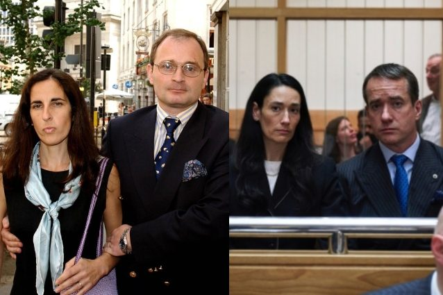 I veri Charles e Diana Ingram a confronto con i due attori