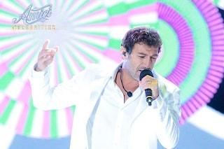 """Ciro Ferrara ad """"Amici Celebrities"""" non riesce a cantare, battibecco tra Platinette e Ornella Vanoni"""
