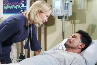 Beautiful, anticipazioni 29 settembre - 5 ottobre: Bill esce dal coma e dice a Brooke di amarla