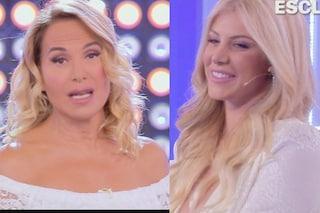 """Paola Caruso chiede alla D'Urso di fare da madrina, lei rifiuta in diretta: """"Grazie, non posso"""""""