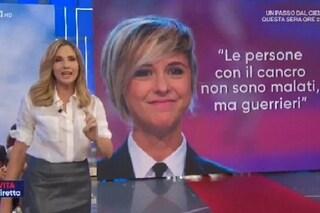 """Lorella Cuccarini ricorda Nadia Toffa: """"Ringraziamola per quello che ha fatto"""""""