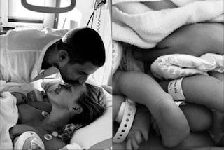 """Fiammetta Cicogna mamma, sono nate Gaia e Gioia: """"Il giorno più bello e doloroso della mia vita"""""""