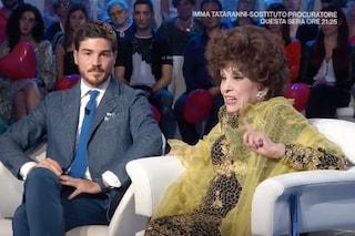 """Gina Lollobrigida e Andrea Piazzolla, lei lo difende: """"Dei miei soldi faccio quello che voglio"""""""