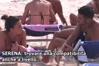 "Temptation Island Vip, Serena Enardu già vicina al single Alessandro: ""Via ogni blocco"""
