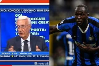 """""""Lukaku lo fermi solo con le banane"""", frase razzista del commentatore sportivo in TV"""