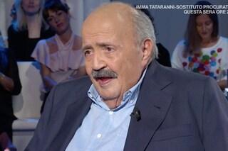"""Maurizio Costanzo saluta Lamberto Sposini: """"Sono legato a lui da grande affetto"""""""