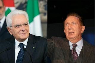 """Il presidente Mattarella ricorda Mike Bongiorno: """"La sua 'allegria' resterà nella storia"""""""