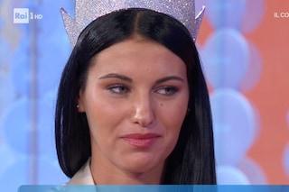 """Miss Italia Carolina Stramare in lacrime per i nonni: """"Alla morte di mamma hanno sofferto più di me"""""""