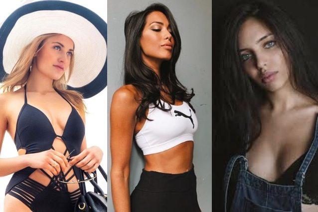 Daisy Mancini, Federica Calemme e Sara Arfaoui