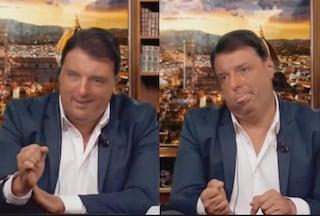 """Striscia la Notizia sul fuori onda finto di Matteo Renzi: """"Non è fake news"""""""