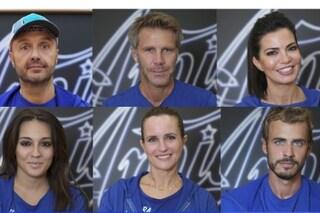 Amici Celebrities, i concorrenti vip della Squadra Blu