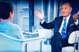 """Bruno Vespa rivendica l'intervista a Lucia Panigalli: """"La rifarei, con frasi meno equivoche"""""""