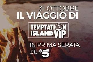Temptation Island Vip torna in onda giovedì 31 ottobre con una puntata speciale