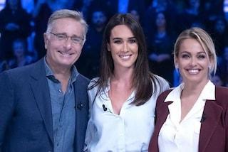 """Paolo Bonolis e Sonia Bruganelli a Verissimo: """"Nostra figlia Silvia è luce allo stato puro"""""""