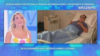 """Domenica Live, Vittorio Cecchi Gori fuori pericolo: """"Ho preso l'appendicite come i ragazzini"""""""