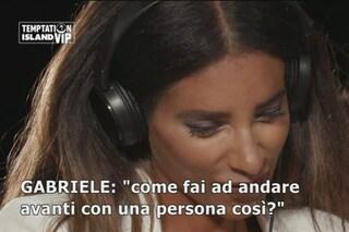 """Temptation Island Vip, Silvia Tirado: """"Sono una donna di classe, Gabriele Pippo si rende ridicolo"""""""