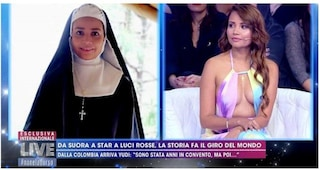 La storia di Yudi Pineda da suora a diva del porno, raccontata a Live-Non è la D'Urso