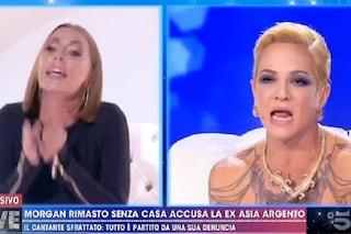 """Lite tra Asia Argento e Karina Cascella: """"Famosa solo grazie a Dario e a Corona"""", """"E tu chi sei?"""""""
