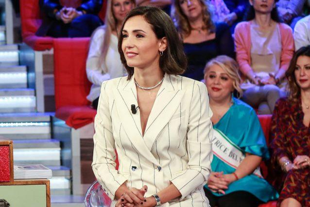 Caterina Balivo a Vieni da me (LaPresse)