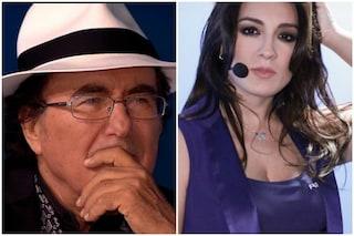 """Al Bano e la gaffe con Francesca Manzini: """"Sei stata brava anche con 15 grammi in più"""""""