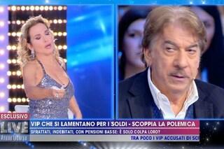 """Marco Columbro litiga con Barbara D'Urso: """"Non te la faccio fare una trasmissione sulla mia pelle"""""""