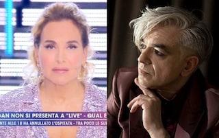 """Morgan assente a Live, Barbara D'Urso sul forfait: """"Non rispetta gli altri artisti"""""""
