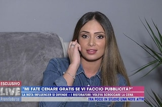 """Valentina Pivati e la cena gratis in un ristorante: """"Faccio la commessa, posso pagarmi una pizza"""""""