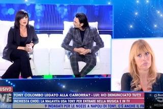 """Live - Non è la D'Urso, Tony Colombo e Tina Rispoli: """"Gaetano Marino un camorrista? Lo dite voi"""""""