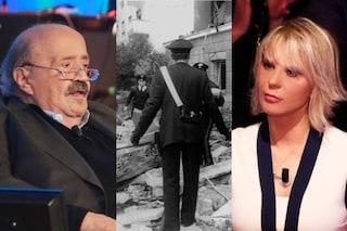 """""""Salvai la vita a Maurizio Costanzo e Maria De Filippi nell'attentato, ricompensato con un orologio"""""""
