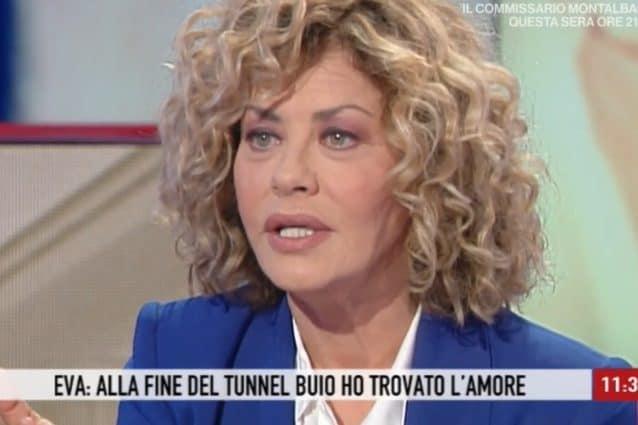 Eva Grimaldi ringrazia l'ex marito Gabriel Garko: