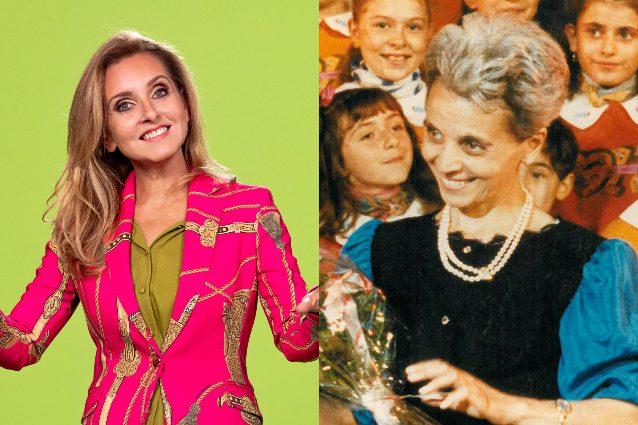 A sinistra Sabrina Simoni in una foto di Federico Borella. A destra Mariele Ventre, fonte Archivio dei Frati Minori dell'Antoniano di Bologna
