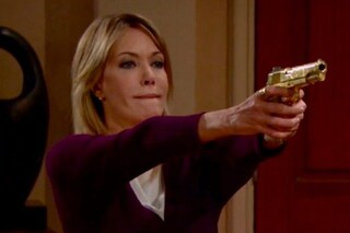 Beautiful, anticipazioni 20 - 26 ottobre: dopo aver sparato a Bill, Taylor minaccia Hope