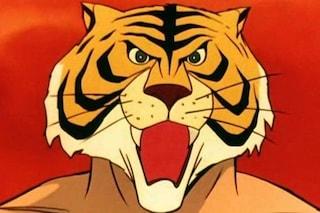 """La storica sigla de """"L'Uomo Tigre"""" in 50 anni di televisione"""