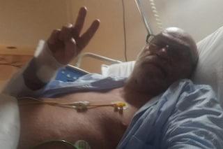 """Toni Capuozzo operato al cuore: """"Non vi libererete di me"""""""
