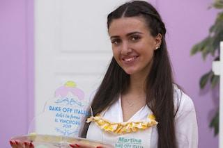 Martina Russo vincitrice di Bake Off Italia 2019, ora aprirà una pasticceria di nome Priscilde