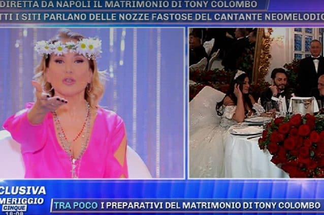 Barbara D'Urso, malore in diretta a Pomeriggio 5