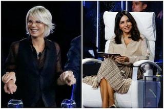 "Tu sì que vales, Maria De Filippi a Sabrina Ferilli: ""Hai le mutande?"", l'attrice risponde di no"