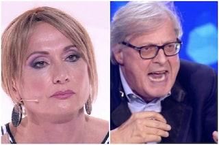 """Scontro tra Sgarbi e Luxuria: """"Tu e Cecchi Paone patetici"""", lei: """"Niente da fare, è spacciato"""""""