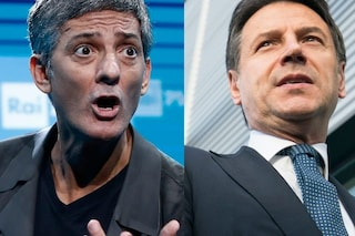 """Il premier Giuseppe Conte """"minaccia"""" Fiorello: """"Mi imiti? Verrò da te, vedremo chi è il migliore"""""""
