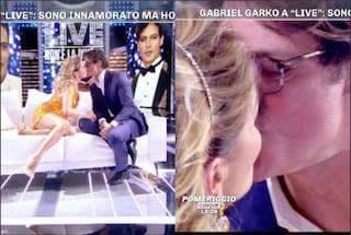"""Barbara d'Urso sul bacio a Gabriel Garko: """"Volevo solo provare che non ha le labbra finte"""""""