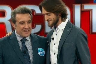 """Niccolò Pagani lascia L'eredità, il discorso emoziona Flavio Insinna: """"La scuola va protetta"""""""