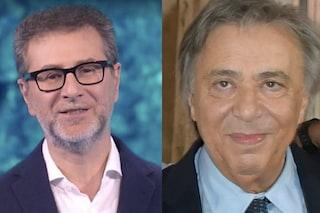 """Fabio Fazio ringrazia Carlo Freccero, che lascia Rai2: """"Ci hai insegnato a coltivare la libertà"""""""